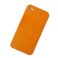 Ultrathin Color Covers Hard Back Cases for iPhone 4G - Orange