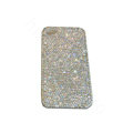 Bling covers All Point diamond crystal cases for iPhone 4G - White