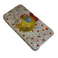 Bling covers Cute diamond crystal cases for iPhone 4G - Yellow