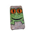 Bling covers Frog diamond crystal cases for iPhone 4G - Pink
