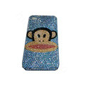 Bling covers Paul Frank Julius diamond crystal cases for iPhone 4G - Blue