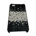 Bling covers Point diamond crystal cases for iPhone 4G - Black