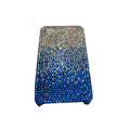 Bling covers Point diamond crystal cases for iPhone 4G - Blue