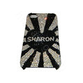 Bling covers SHARON diamond crystal cases for iPhone 4G - Black