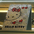 Luxry Bling covers Hello Kitty diamond crystal cases for iPad - White