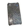 Luxury Bling covers All Point diamond crystal cases for iPhone 4G - Silver