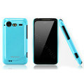 Nillkin Bright side skin cases covers for HTC Incredible S S710D S710E G11 - Blue (High transparent screen protector)