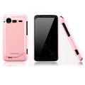 Nillkin Bright side skin cases covers for HTC Incredible S S710D S710E G11 - Pink (High transparent screen protector)