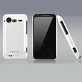 Nillkin Bright side skin cases covers for HTC Incredible S S710D S710E G11 - White (High transparent screen protector)