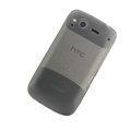Nillkin matte scrub skin cases covers for HTC Desire S G12 S510e - Black (High transparent screen protector)