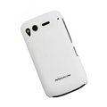 Nillkin scrub hard skin cases covers for HTC Desire S G12 S510e - White (High transparent screen protector)