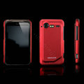 Nillkin scrub hard skin cases covers for HTC Incredible S S710D S710E G11 - Red (High transparent screen protector)