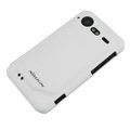 Nillkin scrub hard skin cases covers for HTC Incredible S S710D S710E G11 - White (High transparent screen protector)