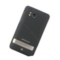 Nillkin scrub hard skin cases covers for HTC Thunderbolt 4G Incredible HD - Black (High transparent screen protector)
