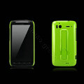 Nillkin Bright side skin hard cases covers for HTC Sensation G14 Z710e - Green (High transparent screen protector)