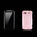 Nillkin Bright side skin hard cases covers for HTC Sensation G14 Z710e - Pink (High transparent screen protector)