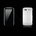 Nillkin Bright side skin hard cases covers for HTC Sensation G14 Z710e - White (High transparent screen protector)