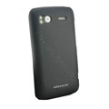 Nillkin scrub hard skin cases covers for HTC Sensation G14 Z710e - Black (High transparent screen protector)