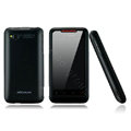 Nillkin scrub hard skin cases covers for HTC Lexicon S610D - Black (High transparent screen protector)