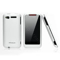 Nillkin scrub hard skin cases covers for HTC Lexicon S610D - White (High transparent screen protector)