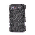 Bling Point crystals diamond cases covers for HTC Salsa G15 C510e - Black