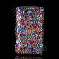 Bling Point crystals diamond cases covers for HTC Salsa G15 C510e - Red