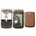 Front and Back Housing With Keypad Fullset For Blackberry 9700 BOLD 2 Mobile Phone - Brown