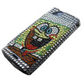 Spongebob bling crystals cases covers for Sony Ericsson Xperia Arc LT15I X12 LT18i - Yellow