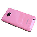 Piano paint Hard Back Cases Covers for Samsung i9100 Galasy S II S2 - Pink