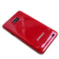 Piano paint Hard Back Cases Covers for Samsung i9100 Galasy S II S2 - Red