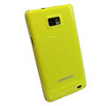 Piano paint Hard Back Cases Covers for Samsung i9100 Galasy S II S2 - Yellow