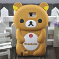Cartoon Rilakkuma Silicone Cases Skin Covers for Samsung Galaxy Note i9220 N7000 - Brown