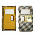 Leather Cases Luxury Holster Covers for Nokia N8 - Beige
