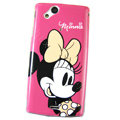 Minnie Hard Cases Covers for Sony Ericsson Xperia Arc LT15I X12 LT18i - Pink