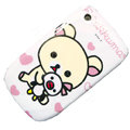 Cartoon Rilakkuma Hard Case Skin Covers For BlackBerry Curve 8520 9300 - Pink