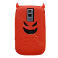 Devil TPU Soft Skin Silicone Cases Covers for Blackberry Bold 9000 - Red