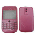 Front and Back Housing With Keypad Fullset Covers for Blackberry Bold 9000 - Pink