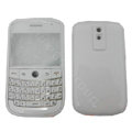Front and Back Housing With Keypad Fullset Covers for Blackberry Bold 9000 - White