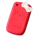 Hello kitty TPU Soft Skin Cases Covers For BlackBerry Curve 8520 9300 - Red