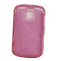 High transparency TPU Soft Skin Cases Covers for Blackberry Bold 9000 - Rose