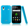 Boostar TPU soft skin cases covers for Samsung Galaxy Ace S5830 i579 - Blue