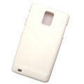 Scrub Hard Skin Cases Covers for Samsung infuse 4G i997 - White