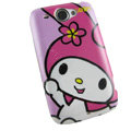 Cartoon Melody Hard Cases Covers for HTC Touch2 T3333 A3380 Wildfire G8 - Rose