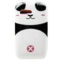 Cartoon Panda Hard Cases Skin Covers for Samsung S5360 Galaxy Y I509 - Pink