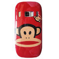 Cartoon Paul Frank Hard Cases Skin Covers for Nokia C7 C7-00 - Red