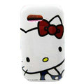 Hello kitty Hard Cases Covers for Samsung S5360 Galaxy Y I509 - White