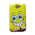 SpongeBob SquarePants Hard Cases Covers for HTC Touch2 A3380 T3333 Wildfire G8 - Yellow
