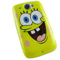 SpongeBob SquarePants Hard Cases Covers for HTC Touch2 T3333 A3380 Wildfire G8 - Yellow