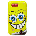 SpongeBob SquarePants Hard Cases Covers for Motorola Defy ME525 MB525 - Yellow