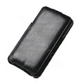 ROCK Flip leather Cases Holster Skin for Samsung Galaxy Note i9220 N7000 - Black